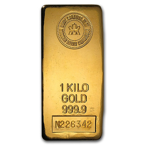 24kg Gold Bar Royal Canadian Mint