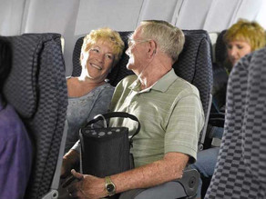 Traveling with Oxygen: Flying