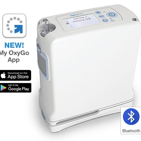 OxyGo Fit Portable Oxygen w/ single battery (4 cell)