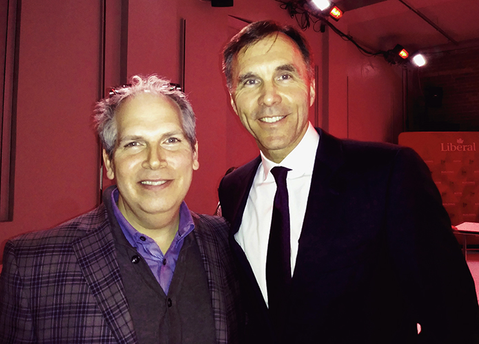 Todd Ross & Honourable Bill Morneau