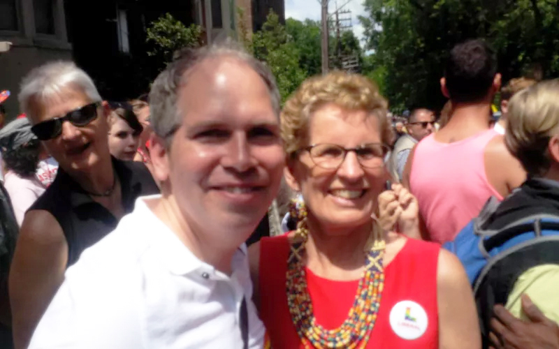 With Premier Wynne at Pride
