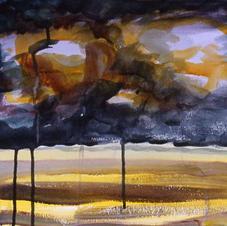 Dark Summer Sky