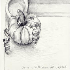 Gourd with Ribbon 2020
