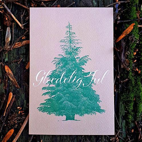 Håndskrevet julekort 1