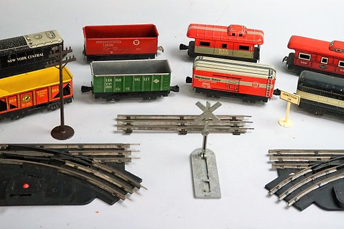 ASSORTED MARX TRAINS AND ACCESSORIES