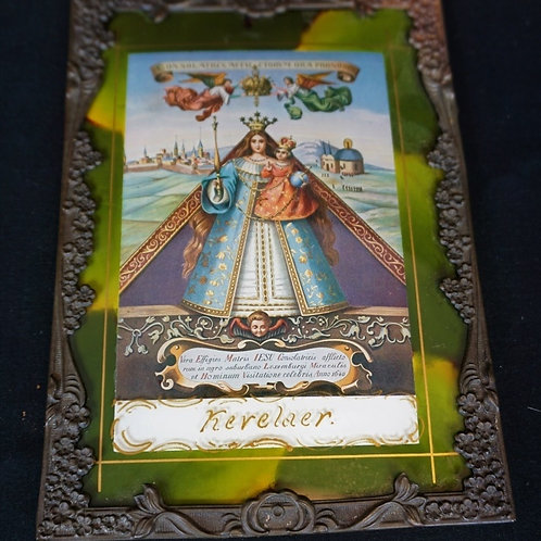 1872 KEVELAER LADY CONSOLER OF THE AFFLICTED CARD