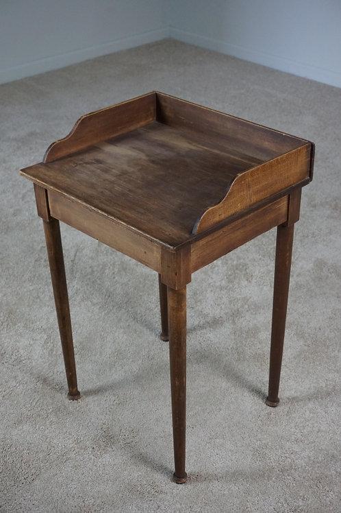19th CENTURY POPLAR SHAKER SIDE TABLE