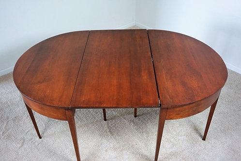 CHERRY HEPPLEWHITE 2pc BANQUET TABLE