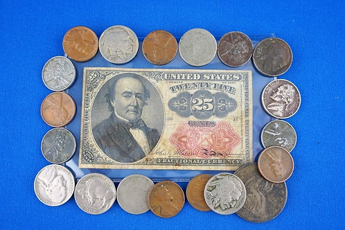 ASSORTED US CURRENCY LOT