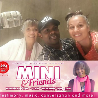 Mini & Friends Radio Show Interview