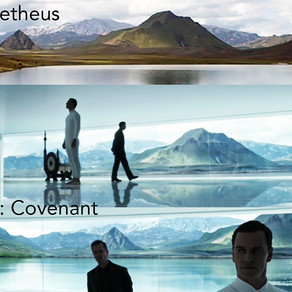 Was Planet 4 from Alien: Covenant shown in the beginning of Prometheus?