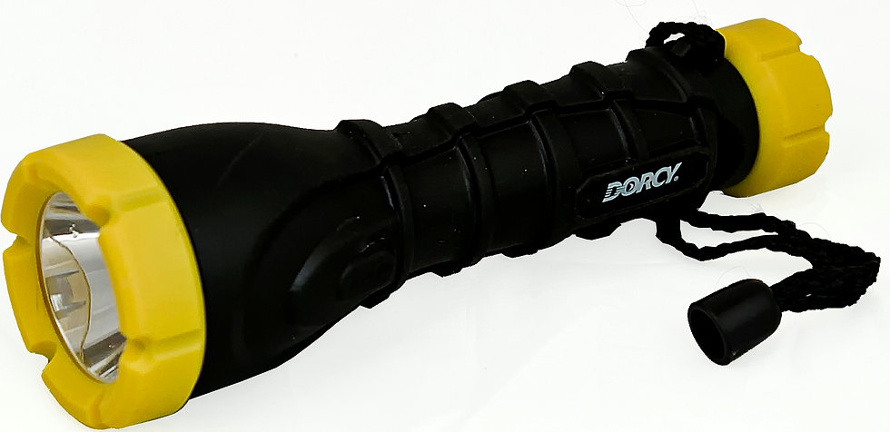 3AAA LED Rubber Torch