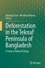 Deforestation in the Teknaf Peninsula of Bangladesh published from Springer in 2018.
