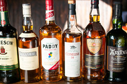 We have over 60 whiskey's