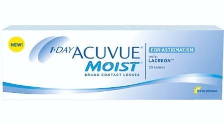 1-Day ACUVUE® Moist with Lacreon