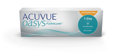 ACUVUE® Oasys with HydraLuxe™