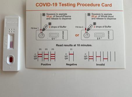 Test anticorpi Covid-19