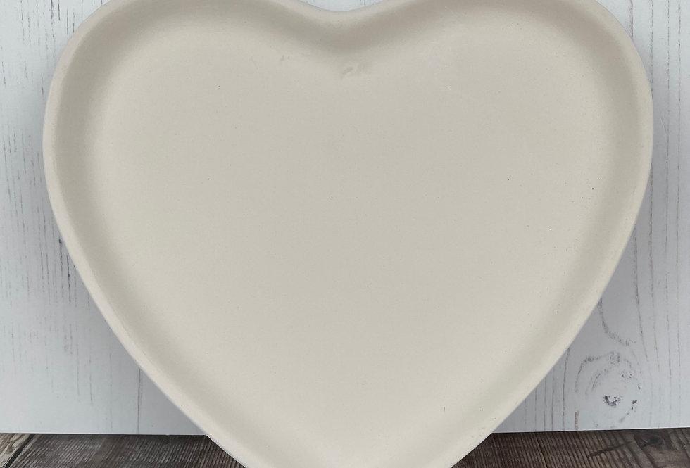 Regular Heart Plate