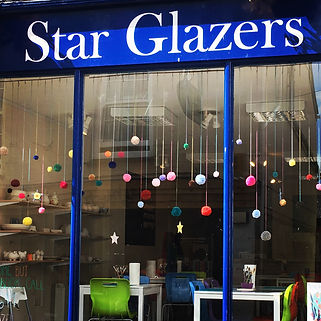 Star Glazers storefront, Falmouth