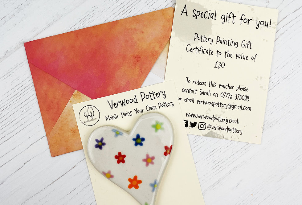 £30 Gift Certificate