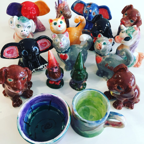 Birthday Party Pottery