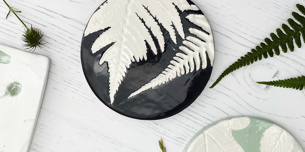 **SOLD OUT** Floral Coasters or Plaque Workshop