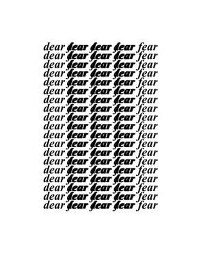 Dear Fear #6