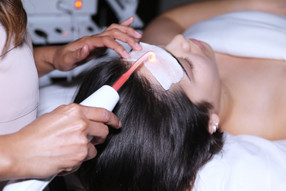 Acne facial with high frequency in Sugar Land, TX