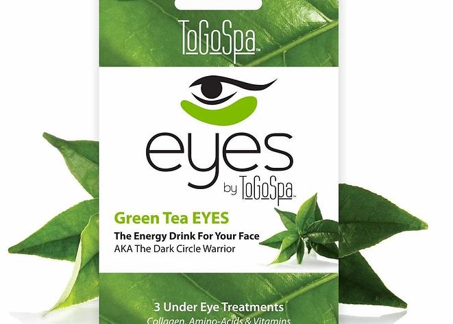 ToGoSpa Eye- Green Tea Collagen Eye Pads