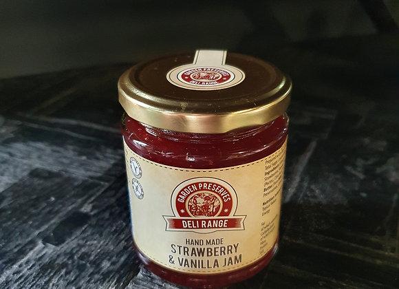 Norfolk Garden Preserves Strawberry & Vanilla Jam