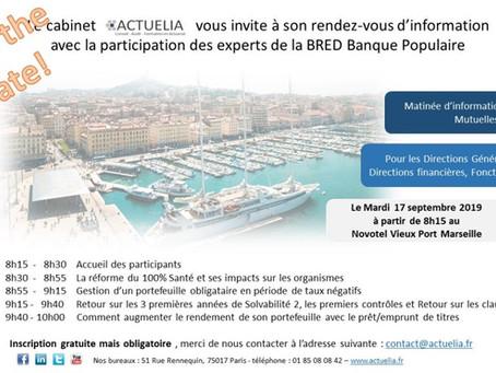 Petit déjeuner à Marseille le 17 septembre