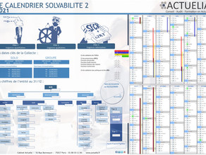 Publication du Calendrier Solvabilité2 2021