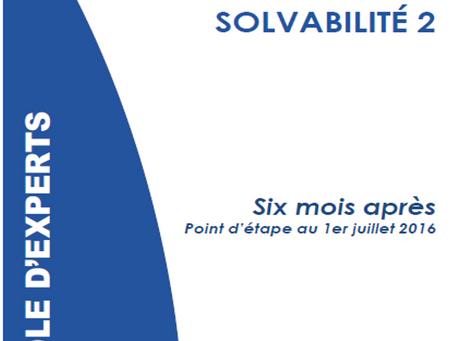 Parole d'experts : Solvabilité 2 – Six mois après