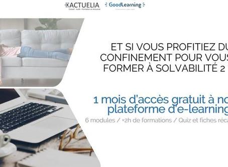 Profitez de la plateforme E-learning Solva2 gratuitement pendant la période de confinement