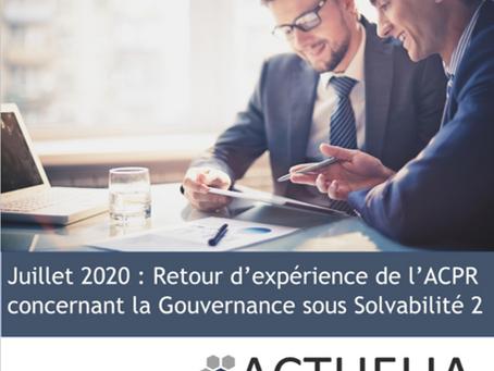 Juillet 2020,l'ACPR tire le bilan des 5 premières années après la mise en œuvre des nouvelles règles