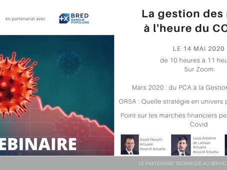 Invitation au Webinaire le 14 mai 2020: La gestion des risques à l'heure du COVID-19, avec la BRED