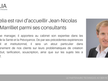 Actuelia est ravi d'accueillir Jean-Nicolas Marrilliet au sein de son équipe