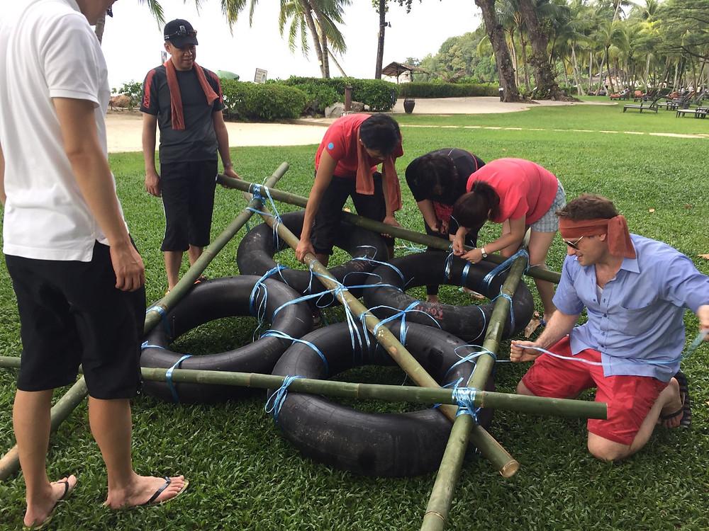 在泰國的一次團隊建立(Team Building)活動