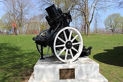 mortar in park