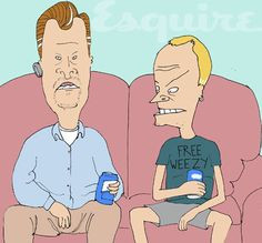 BILL & TED return with Beavis and Butthead