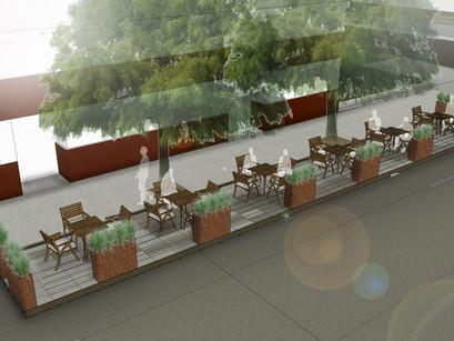 Downtown parklet design gets city approval!