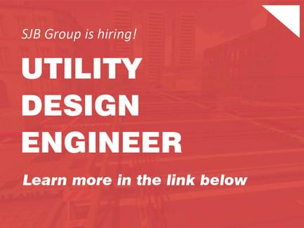 SJB Group is Hiring - Utility Design Engineer