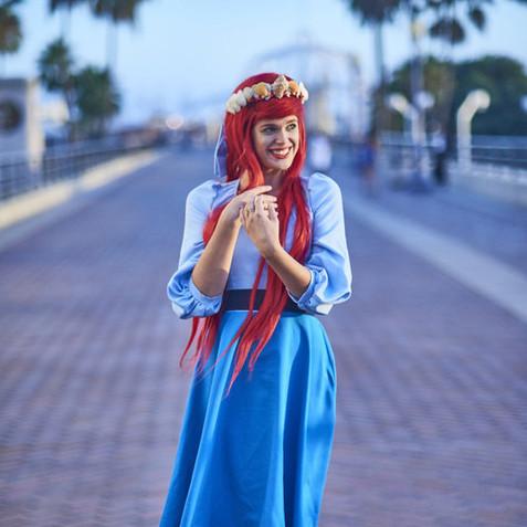 Ariel Disneybound