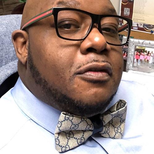 Custom Gucci Bow-Tie (Blue)