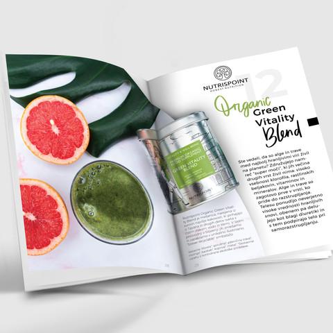Broschure Design - Green Vitality