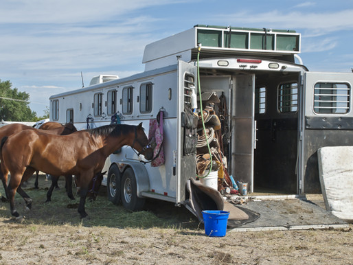 Home Sweet Horse Trailer