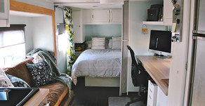Make Your RV Bedroom Feel Like Home On The Road