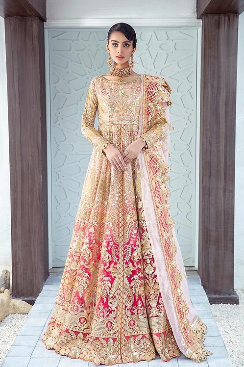 Maryum N Maria | Fressia Luxury Bridals '21 | Sangria Savor-Stitched