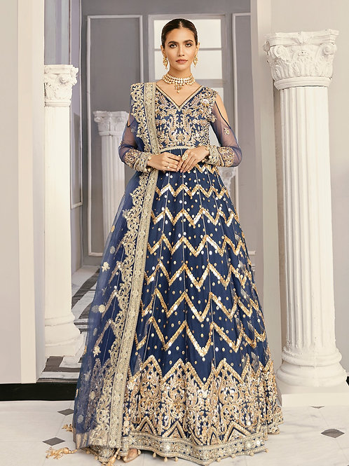 Akbar Akbar | Formal Collection 2021 | Periwinkle
