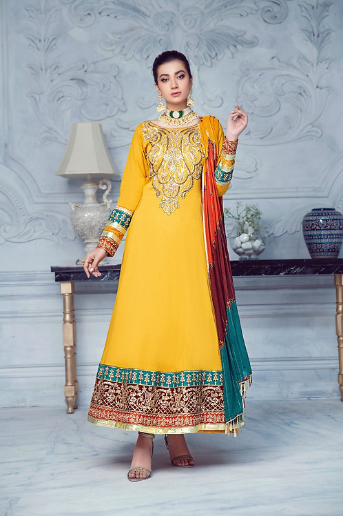 Mohagni | Zarqa Collection 2021 | 7B-3Pc Stitched